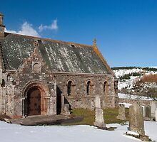 The Kirk at Cranshaw by Jon Tait