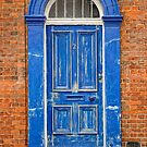 Big Blue Door by Karen  Betts