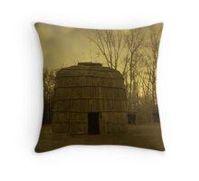 Kanata Reborn: An Allegory Of Native and Non Native Life In Brantford. Throw Pillow