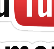 You Tube Famous Sticker