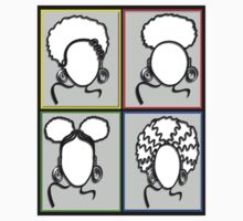 AFRO PUFF STYLES by S DOT SLAUGHTER