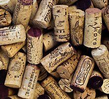 Wine Corks 2 by Werner Padarin