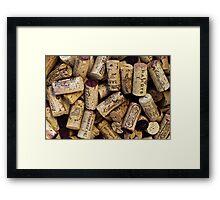 Wine Corks 2 Framed Print