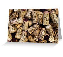 Wine Corks 2 Greeting Card