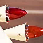 Retro automobile tail lights by Gordon Pressley