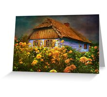 Museum of the Polish countryside. Sierpc.. Greeting Card