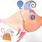 birthday awkward salmon by margery123