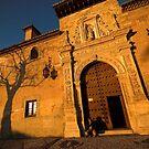 Sunset in Granada, Spain by Hugh Chaffey-Millar