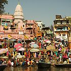 Varanasi and the Ganges, India by Hugh Chaffey-Millar