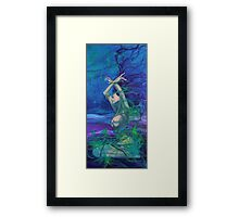 """Entangled in your love""  - from ""Whispers"" series Framed Print"