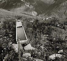Fountain, Sent Switzerland by itchingink