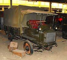 First World War Lorry by Andy Jordan