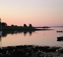 Sunset in Kinvara, Co. Galway by kdilts