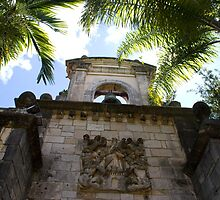 Entry to the Ancient Spanish Monastery in Miami Florida by Pamela McCreight