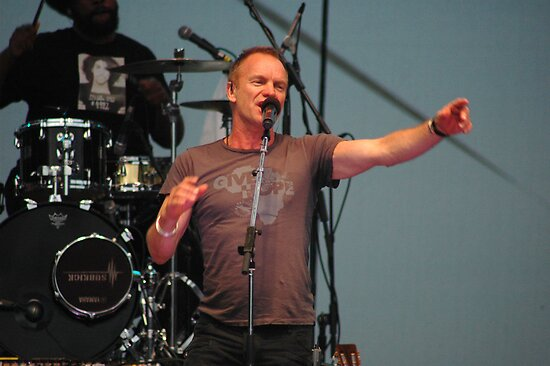 Sting -  Earth Day April 25th 2010 by Matsumoto