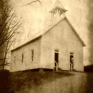 Cades Cove Methodist Church II by A Different Eye Photography