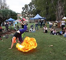 cartwheel fire breathing by steven forward