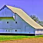 White barn by David Owens