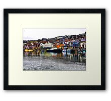 Scarborough Harbour #2 Framed Print