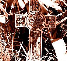 A Cross in the Garden by kaitonthekeys