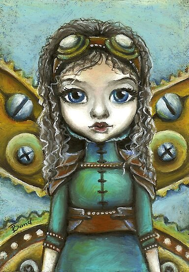 Steampunk fairy by Tanya Bond by tanyabond