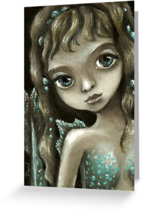Little mermaid - fantasy painting by Tanya Bond by tanyabond