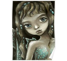 Little mermaid - fantasy painting by Tanya Bond Poster