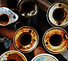 Rusty Pipes by lisabella