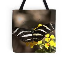 Zebra Longwing-2 Tote Bag