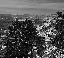 Looking North from Horsetooth by Roschetzky