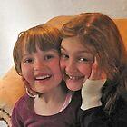 Little girls, big smiles by Danny Drexler