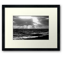 Sunset 9251 Framed Print