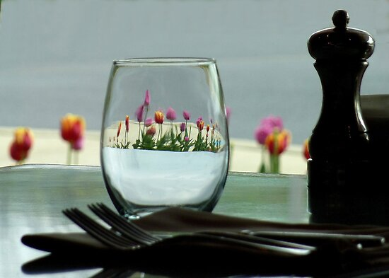 I'll Have a Glass of Flowers Please. by clizzio