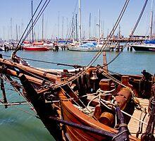"""Enterprize"" Docklands Melbourne by Pauline Tims"