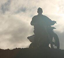 Me and My bike - Merredin  Western australia by Ouzopuppy