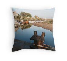Blakeney bollard North Norfolk Throw Pillow