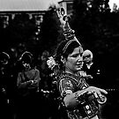 Dancer at Medieval Fair by Gerijuliaj