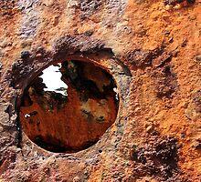 Rusty Eye - Maheno Ship Wreck, Fraser Island, Australia by Fineli