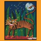 Tiger Tiger Burning Bright!!! by Phil  Brown