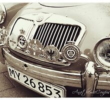 1959 MGA Roadster by Ashfaq