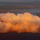 Sunset on the clouds by Susan Blevins