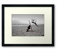lonely dancers 2 Framed Print