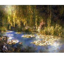 Monet after Midnight Photographic Print
