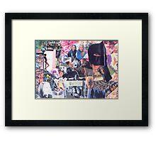 Naked Apes Alike Framed Print