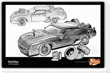 Mad Max -V8 Interceptor by ea-photos