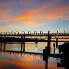 morning beauty - sunrise in the bridge by todski2
