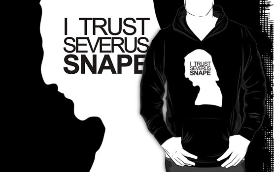 I trust Severus Snape -inverted- by Kate Bloomfield