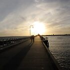 Romantic Stroll on St Kilda Pier by DianneLac