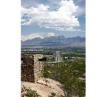 Entering Las Cruces Photographic Print