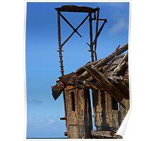 a little bit of Scotland on Fraser Island Poster